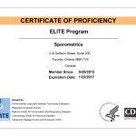 Sporometrics Legionella ELITE Certificate
